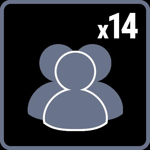 LumaForge Jellyfish connectivity spec icon 14 users