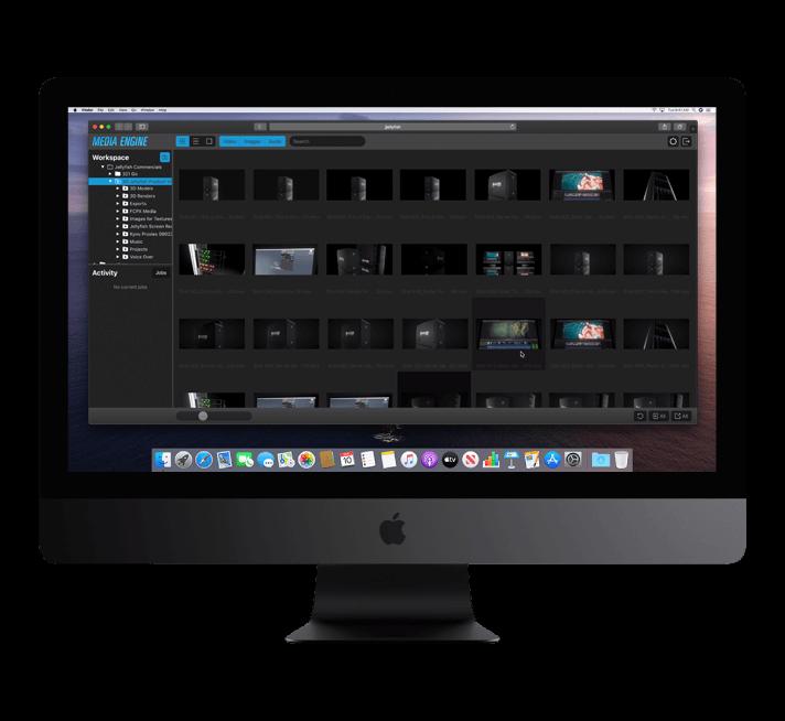 Jellyfish Media Engine i Mac