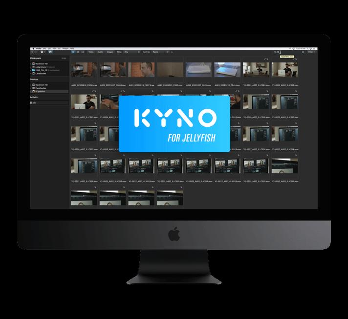 Kyno For Jellyfish i Mac