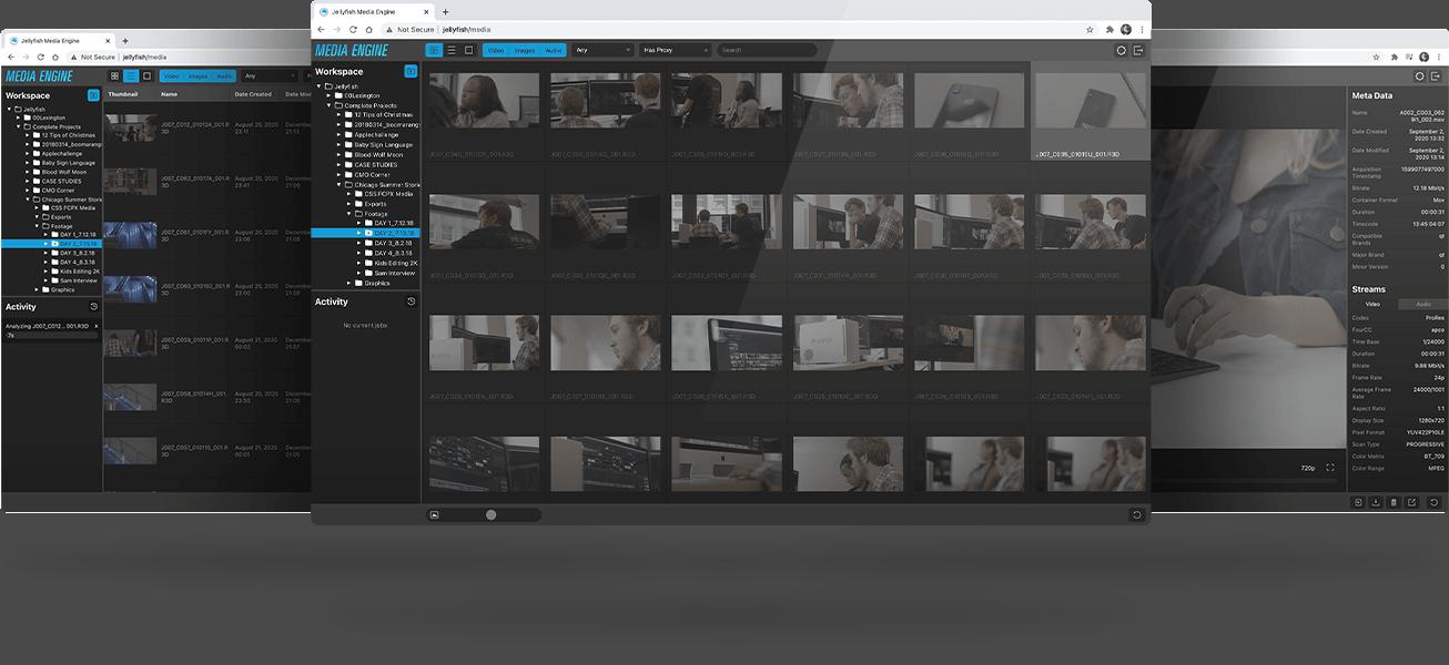 Media Engine Showcase